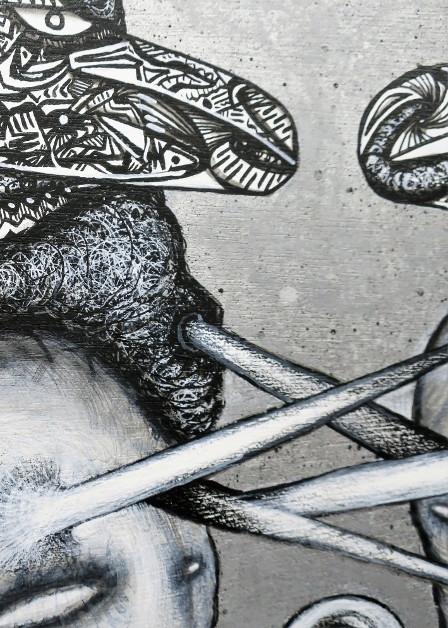 unuborenisakuhana – うぬぼれに咲く花 (detail)
